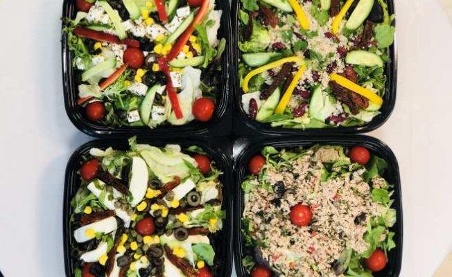 Beyaz yakalılara özel sağlıklı ve lezzetli salata