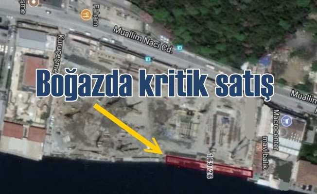 Boğaz'da İBB'den krtik satış kararı