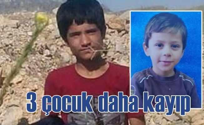 Çocuklarımıza sahip çıkın: 3 çocuk daha kayıp