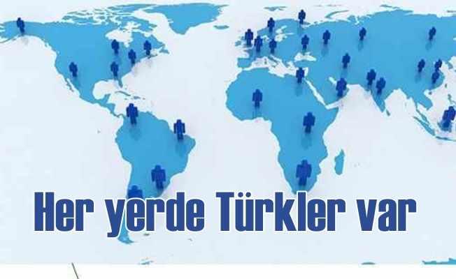 Dünya üstünde 193 ülkenin 170'inde Türk vatandaşı var