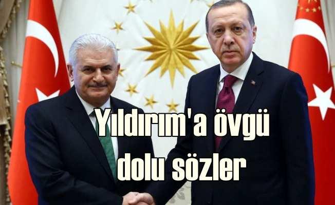 Erdoğan'dan Yıldırım'a: Rabbim bize Binali Bey gibi güzel dostlar nasip etti