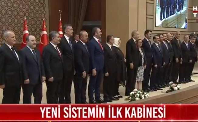 Erdoğan'ın yeni kabinesi açıklandı; İşte yeni Bakanlar Kurulu