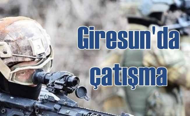 Giresun'da çatışma: PKK'lı teröristler ormanlık alana kaçtı