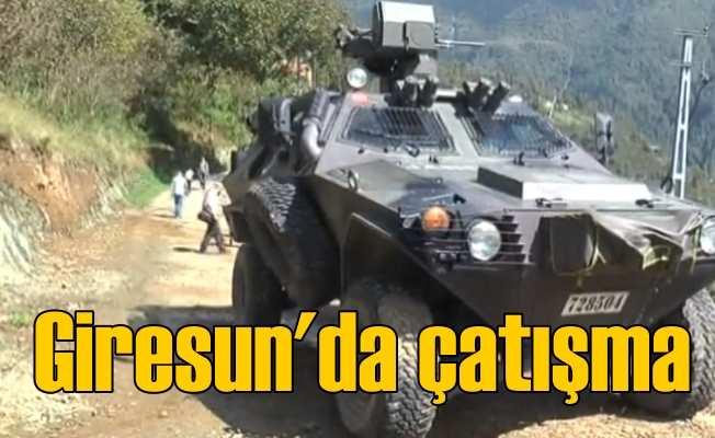Giresun Doğankent'te PKK'lı teröristlerle çatışma
