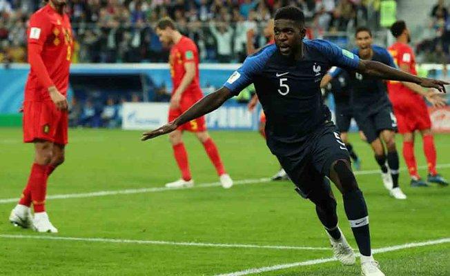 İlk finalist Fransa oldu