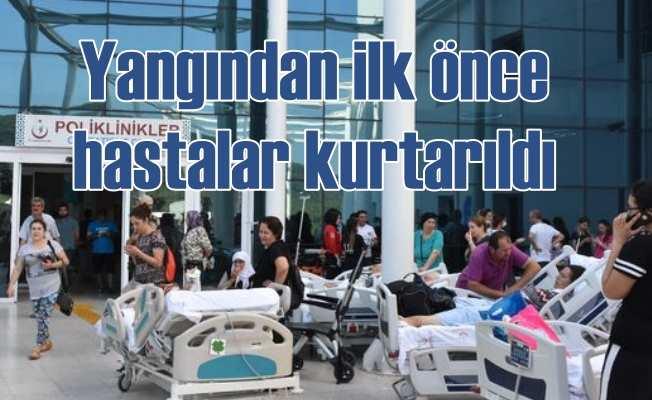 Muğla'da üniversite hastanesinde yangın | 2018'de hastane yangınları