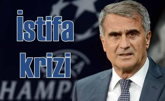 Şenol Güneş için kritik süreç: Beşiktaş'ta istifa krizi