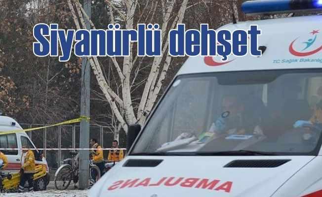 Siyanürle intihara kalktı, 3 polis karantinaya alındı