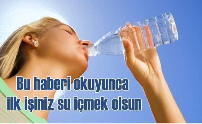 Su içmek için 11 önemli neden; Strese su içerek 'dur' deyin!