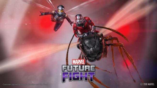 Süper kahramanlar Ant-Man ile Wasp MARVEL Future Fight'a katıldı