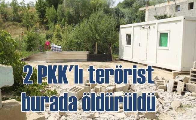 Van'da operasyon; Korucu katili teröristler öldürüldü