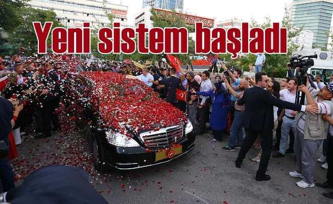 Yeni sistem başladı; Hayırlı olsun Türkiye