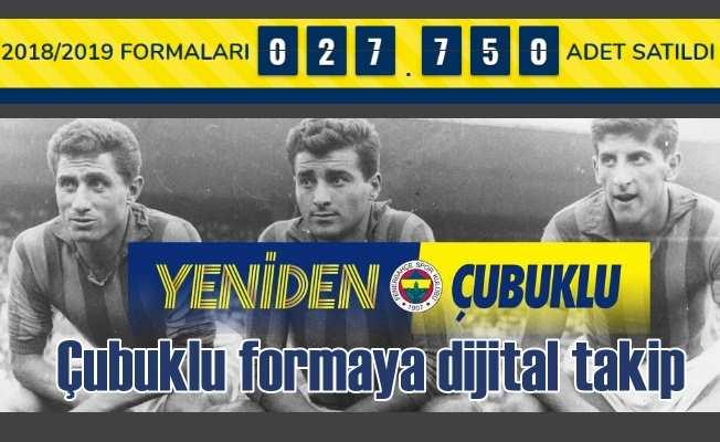 #Yeniden Fenerbahçe'nin çubuklu formasına dijital takip