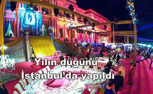 Yılın düğünü İstanbul'da gerçekleşti