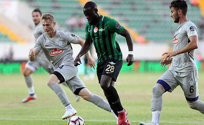 Akhisarspor 1- Rizespor 1