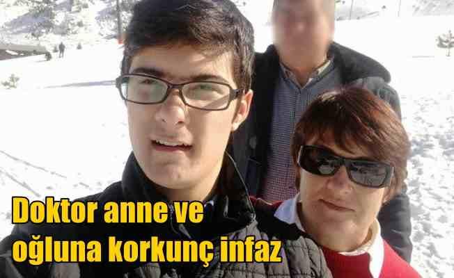 Antalya'da vahşi infaz; Doktor anne ve oğlu katledildi
