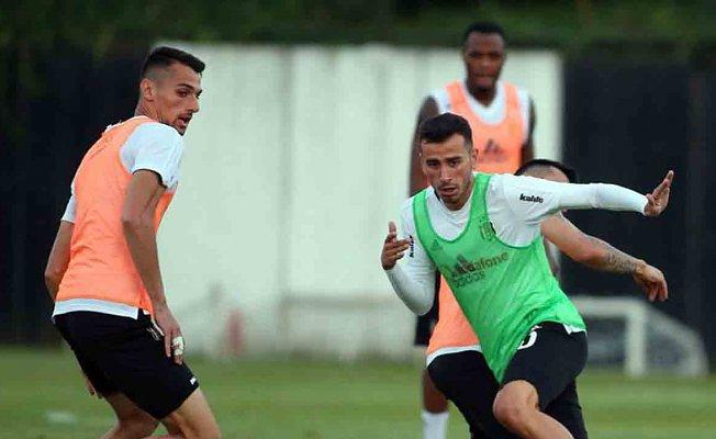 Beşiktaş LASK Linz maçının hazırlıklarında devam etti