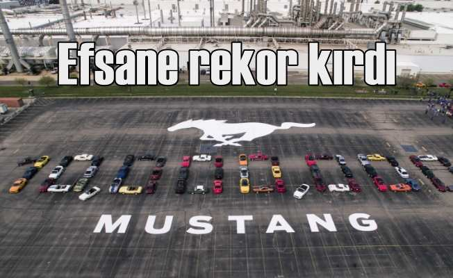 Ford Mustang,10 milyonuncu aracını banttan indi!
