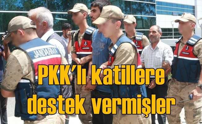 PKK'lı katillere yardım eden başmanlar tutuklandı
