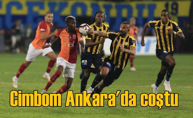 Süper Lig ilk maçta, Galatasaray Ankaragücü'nü 3 golle devirdi