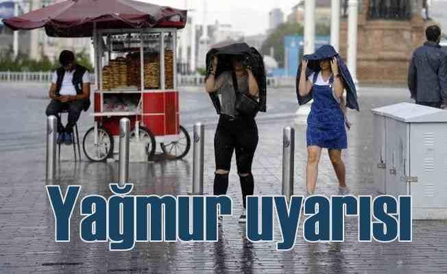 Bugün hava nasıl olacak; Yağmur uyarısı var