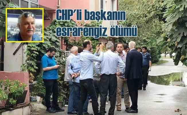 CHP İl Başkan Yardımcısı evinde ölü bulundu