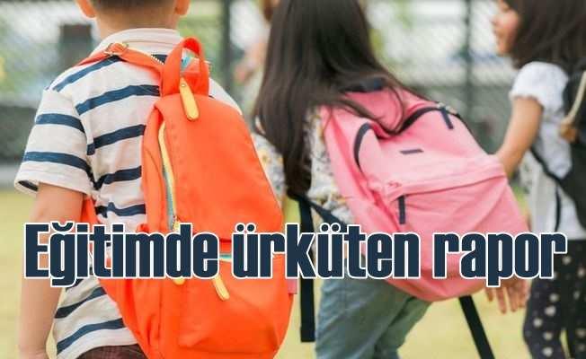 Eğitim'de ürküten rapor: OECD'nnin gerisinde kaldık