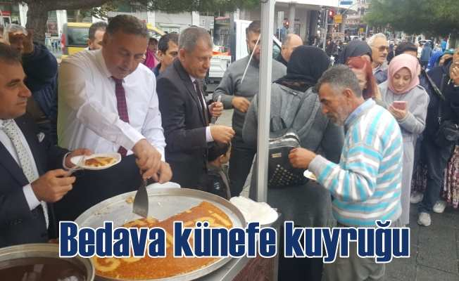Hatay Tanıtım Günleri başladı; Kadıköy'de bedava künefeye hücum