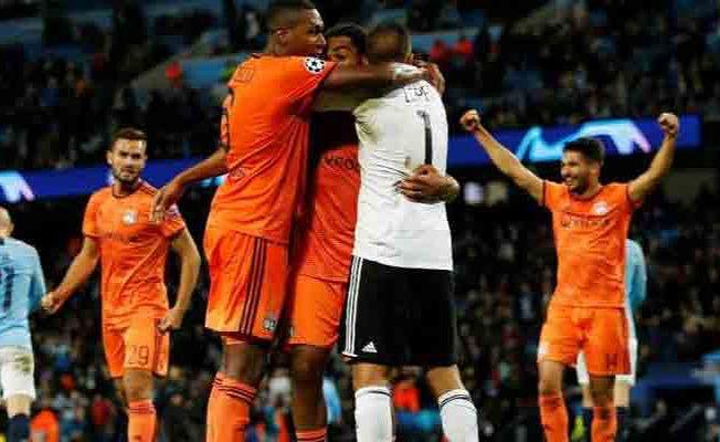 Manchester City 1- Lyon 2