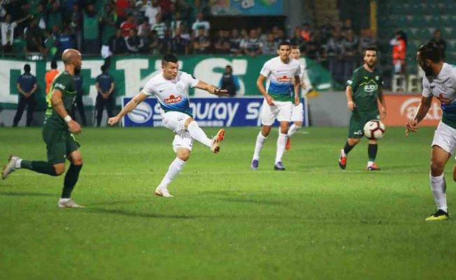 Rizespor 1 Bursaspor 1