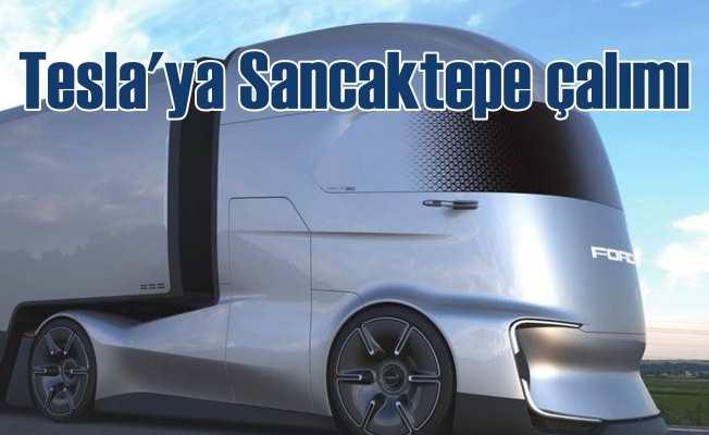 Tesla'ya Ford, Sancaktepe'de geliştirdiği F-Vision ile fark attı