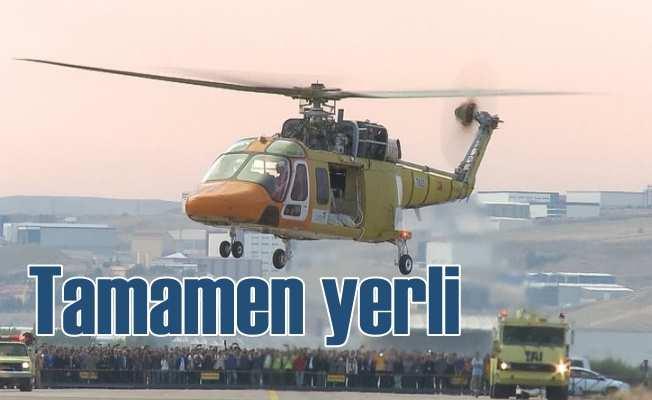 Türkiye'nin ilk milli helikopteri test uçuşuna başladı