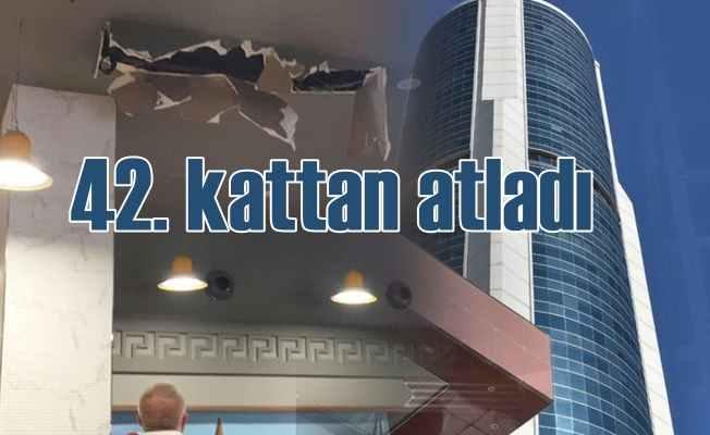 42. kattan atladı, hayatta kaldı