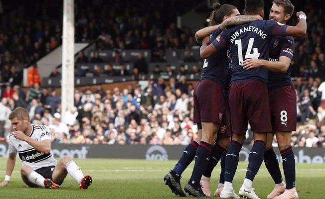 Arsenal'dan gol şow