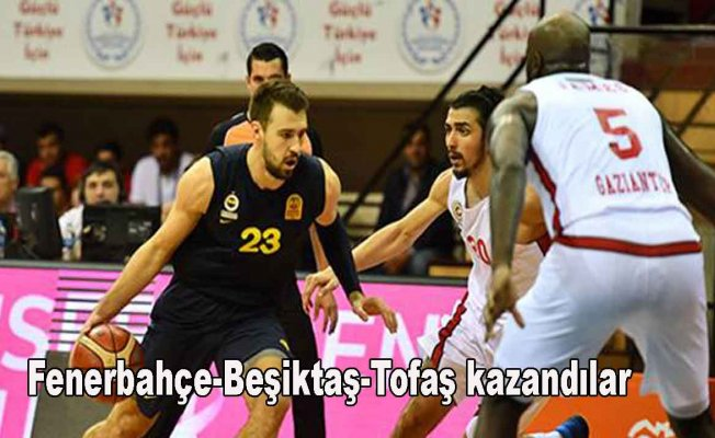 Basketbol Süper Ligi'de bugün 3 maç oynandı.İşte sonuçlar