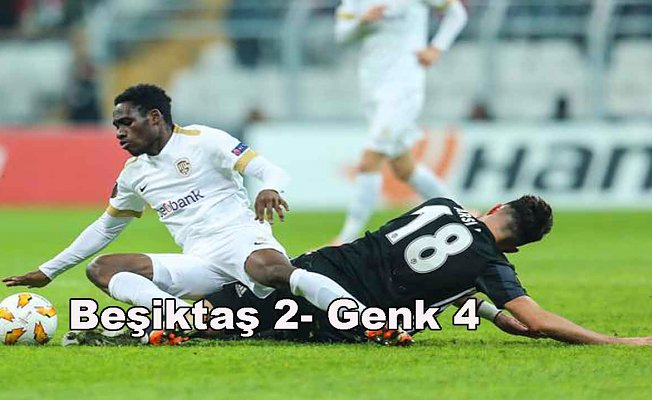 Beşiktaş evinde farklı yenildi