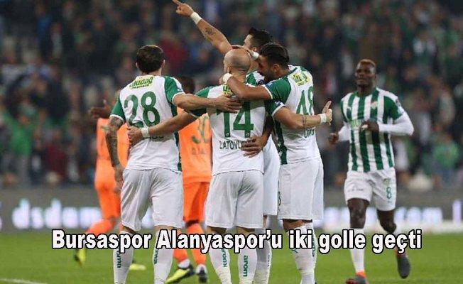 Bursaspor 2- Aytemiz Alanyaspor 0
