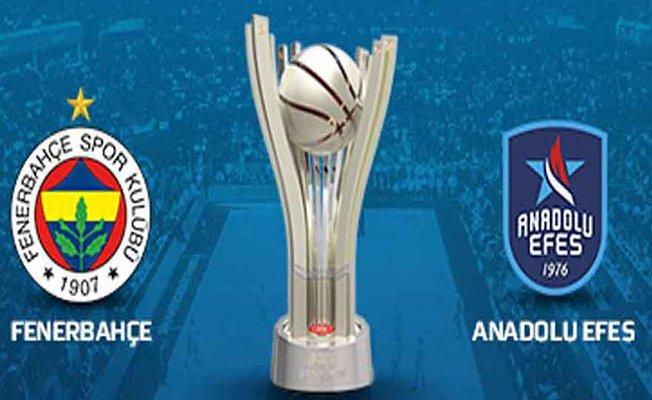 Cumhurbaşkanlığı Kupası Anadolu Efes'in