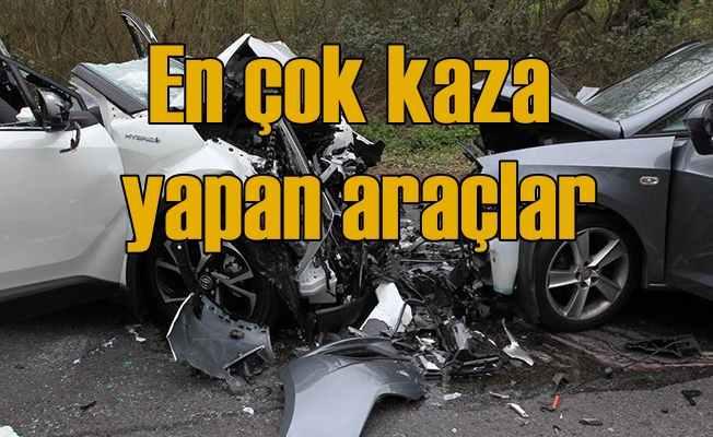 En çok kaza yapan otomobil markaları hangileri?