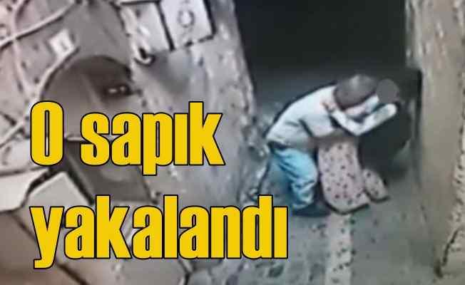 Engelli kızı sokakta taciz eden sapık tutuklandı