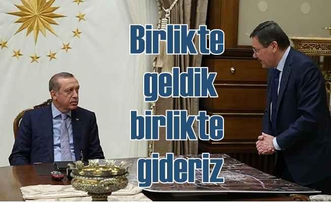 Erdoğan; Melih Gökçek yol arkadaşımız, birlikte geldik, birlikte gideriz