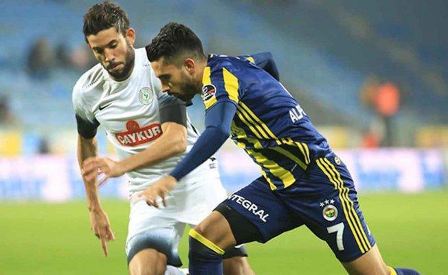 Fenerbahçe'ye büyük şok!!!Çaykur Rizespor 3- Fenerbahçe 0