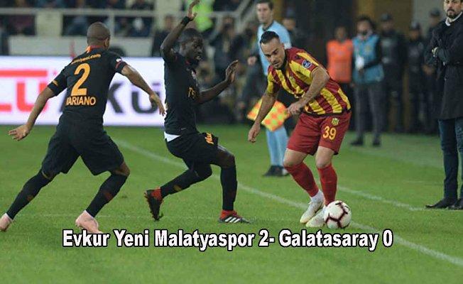 Galatasaray, Malatya'dan puansız dönüyor