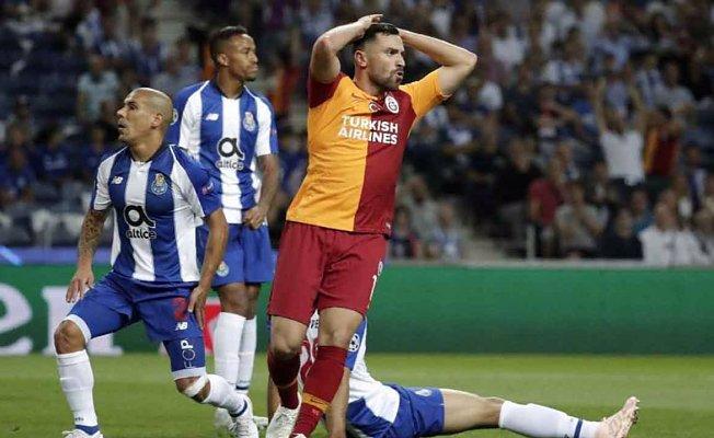Galatasaray, Porto'yu elinden kaçırdı