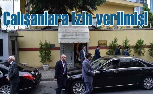 Kayıp Arap Gazeteci skandalı; Türk çalışanlara izin verilmiş