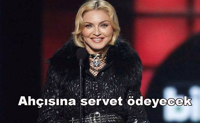 Madonna 810 bin TL ücretle aşçı arıyor