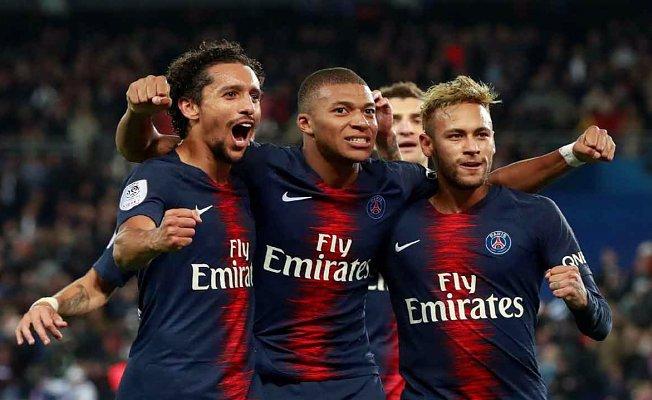 Paris Saint Germain 5- Lyon 0