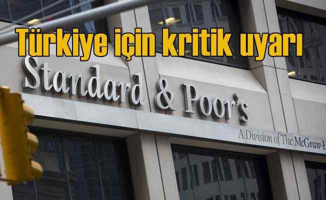 S&P'den Türkiye için resesyon uyarısı geldi