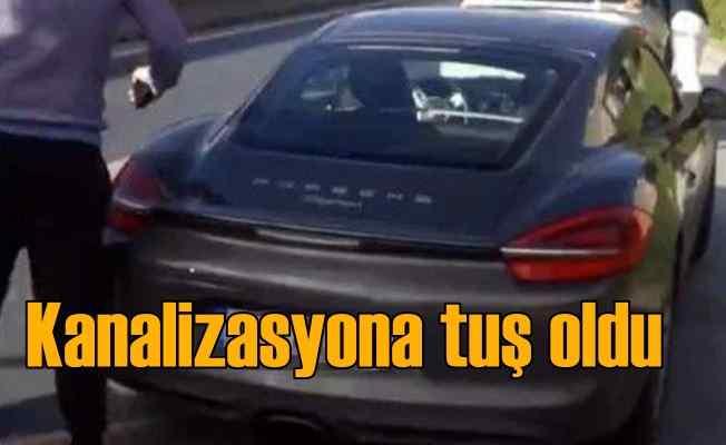 TEM'de rögar faciası: Milyonluk araç yolda kaldı