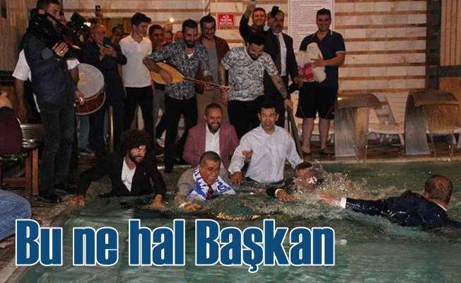 TRT bu görüntüleri canlı verdi: Bu ne hal başkan
